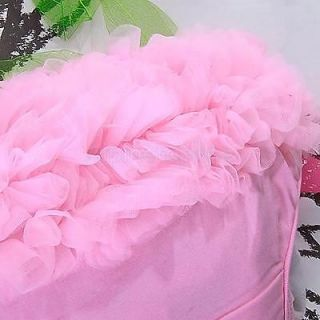 Baby Girl Ruffle Panties Bloomers Diaper Cover Pink S