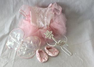 American Girl Pleasant Company Retired Sugar Plum Fairy Ballet Costume RARE