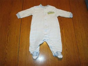 Carter's Team Grandpa Outfit Used Infant Baby Boys Clothing Size 3 Months