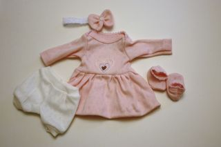 Sculpted OOAK Baby Doll Clothes Dress Tiny Miracle Mini Reborn Preemie 10""