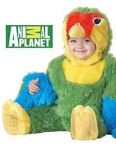 Animal Planet Love Bird Colorful Parrot Infant Baby Halloween Costume