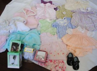 28 PC Lot Baby Infant Girl Clothes Dresses Shoes Sweaters Newborn 0 3 3 6 Months