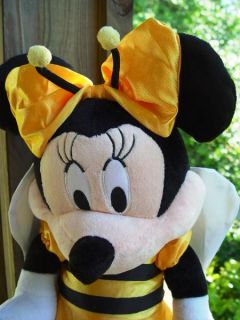 "Large 20"" Minnie Mouse Halloween Doll Trick or Treat N Bee Costume"