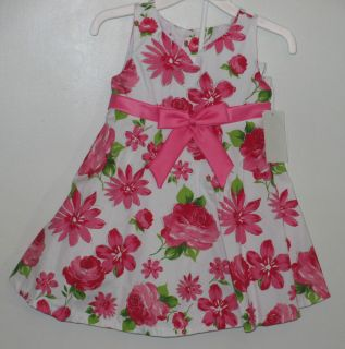 Size 12 18 Months Bonnie Baby Jean Girls Dress Summer Spring New $42