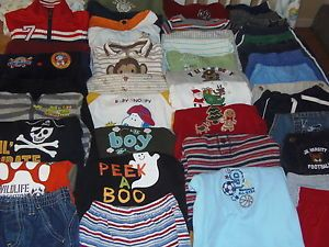 Huge 43pc Baby Toddler Boy Fall Winter Clothes Lot 6 9 9 12 Months Gymboree