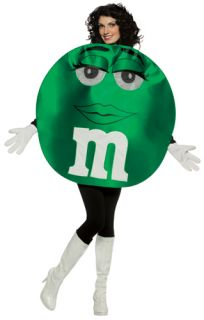 M M's Green Character Deluxe Womens Adult Costume
