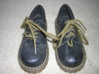 Doc Dr Martens Infant Youth 5378 Black Leather Boots Shoes Sz UK 9C US 10c