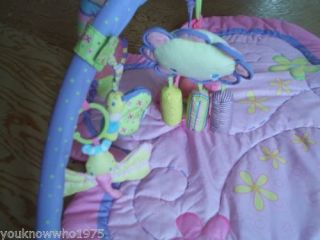 Bright Starts Supreme Activity Play Gym for Baby Girl Pretty in Pink Tummy Time