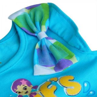Bubble Guppies Girl Baby 2pcs Outfit Top Dress T Shirt Polka Dots Short Pants 2T