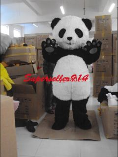 Baby Panda Bear Mascot Costume Adult Size Suit Fancy Dress Animal Cosplay EPE