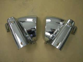 Harley Road King Chrome Headlight Nacelle