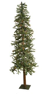 6' Pre Lit Frosted Alpine Artificial Christmas Tree MLT
