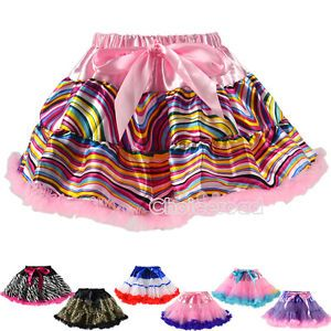 Beautiful Girls Baby Zebra Princess Ballet Dance Costume Tutu Dress Skirt C99D