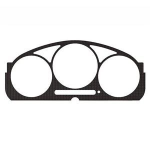 Subaru Impreza 02 07 Carbon Fiber Custom Speedometer Dash Gauge Bezel Trim Kit