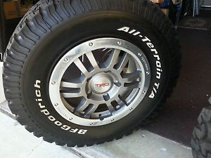 2013 Toyota Tundra TRD Rock Warrior Rims Tires