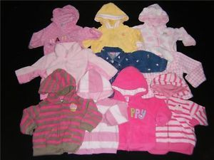Lot Baby Girl 6 9 Months Fall Winter Clothes Coat Jackets Hooded 6 9 M