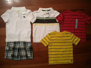 Lot Baby Boys Toddler Clothing Summer Shirts Set Crazy 8 Gap 18 24 Months