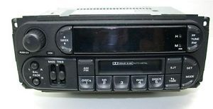 Chrysler Jeep P05064335AJ Van PT Cruiser Sebring Car Radio Cassette Player Van
