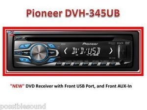 Pioneer DVH 345UB DIN Car Stereo DVD Player CD  USB iPod iPhone