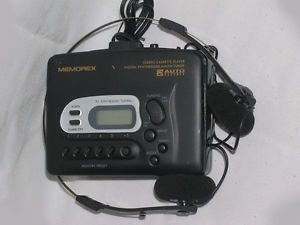 Memorex Portable Am FM Radio Cassette Player w Auto Reverse