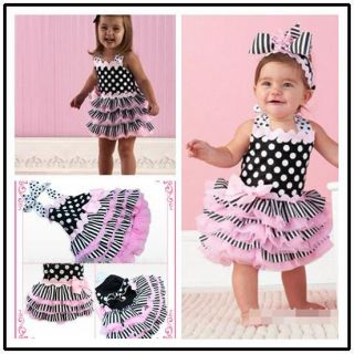 WIN27 Baby Girl Cake Tutu Skirt Dress Outfit Clothes Ballet Party Dancewear A