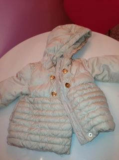 Baby Gap Warmest Puffer Winter Toddler Coat Jacket 2T Ivory
