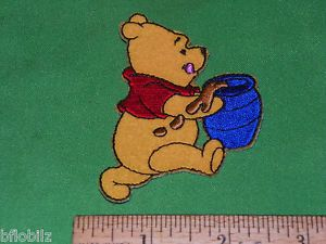 "Disney Winnie Pooh Character Customize Baby Kid's Clothing Iron Sew on 3"" Patch"
