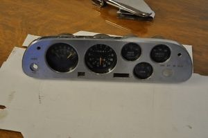 1962 64 Corvair Spyder Dash Instrument Cluster Used