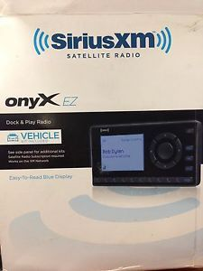Sirius XM Onyx EZ Dock Play Satellite Radio with Vehicle Kit XEZ1V1