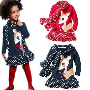 Girls Polka Dot Dress