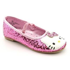 Hello Kitty Lil Leila Flats Shoes Pink Toddler Girls