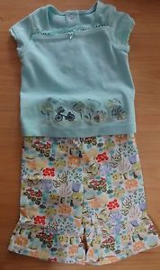 Gymboree French Market Baby Girl Summer Outfit Clothes Size 3 6 Months NWOT