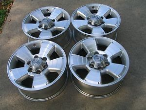 "17 "" Set of Toyota 4Runner Tacoma Tundra Wheels Factory Stock Rims"