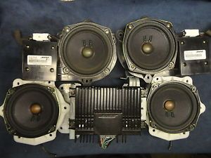 "Bose 5 Piece Car Sound System ""Powered"" Speakers Nissan Pathfinder Infinity QX4"