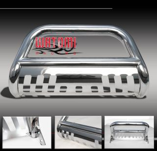 "99 04 Nissan Pathfinder Truck 3"" Front Push Bull Bar Bumper Grille Guard Chrome"