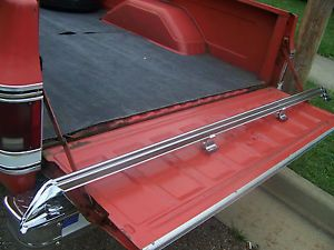 1973 87 Original Equipment Chevy GMC Long Bed Truck Rails RARE Nice Condition