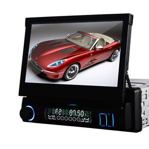 Detechable Single 1 DIN in Dash Car DVD Player Radio Car Audio Stereo Touch RDS