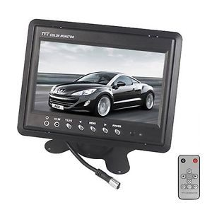 Headrest Frame Stand Bracket 7inch TFT LCD Color Car Monitor Rear View