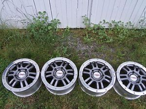 "4 Factory Toyota Tundra TRD Rock Warrior 17"" Forged Wheels Rims"