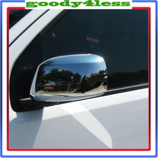 05 12 Nissan Frontier Pathfinder Xterra Chrome Mirror Covers Set Left Right Pair