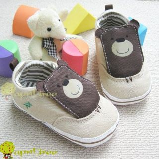 New Infans Toddler Baby Boy Soft Sole Shoes Trainer Prewalker F10 Size 234 3 15M