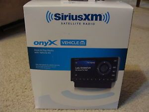 New Sirius XM Onyx Receiver Dock Play Satellite Radio with Vehicle Kit XDNX1V1 778890206849
