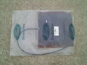 92 Ford Aerostar One Seat Back Center Bolster Pad for Van with Captain Chair
