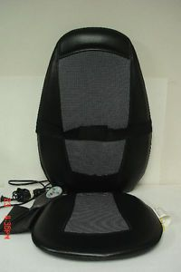 Homedics SBM 200H Shiatsu Massage Chair Cushion Massager with Heat