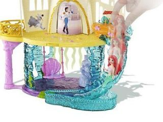 Mattel X9437 Disney Princess The Little Mermaid Castle Playset