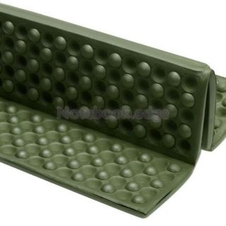 Foldable Folding Foam Seat Cuchion Chair Pad Park Picnic Graden Camping Green