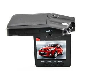 "2 5"" Car DVR Camera with 6 IR LED Night Vision Digital Video Recorder H198"