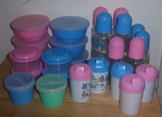 Wholesale 25 PC Feeding Set Diaper Cakes Childcare Baby Shower Bottle Bib