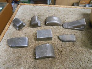 L1730 Lot of Vintage Auto Body Tools Dollies Old Body Shop Find