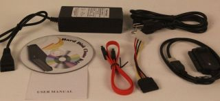 Laptop Desktop SATA IDE USB Hard Drive Clone Transfer Kit CD Disk